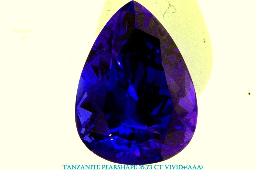 Jewelry Tanzanite Gems