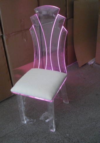 LED Acrylic Chair