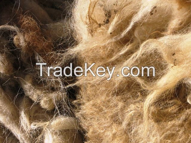Color Sorted Wool Waste