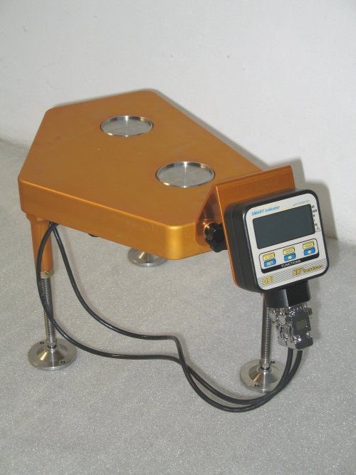 SET UP WHEELS AND SCALES WITH LOAD CELLS - RACING EQUIPMENTS