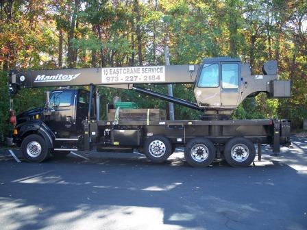 Crane Boom Truck