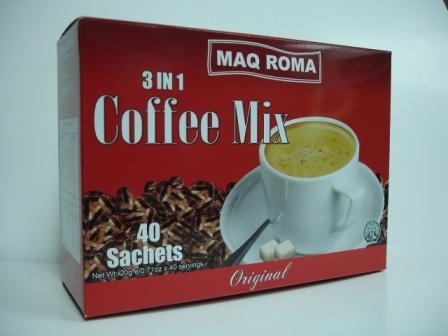 MAQ ROMA Instant 3in1 My coffee