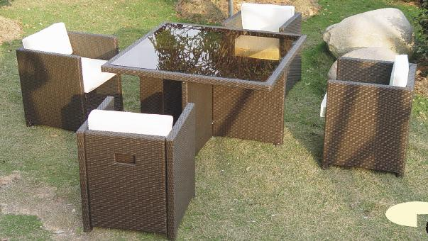 All weather woven furniture