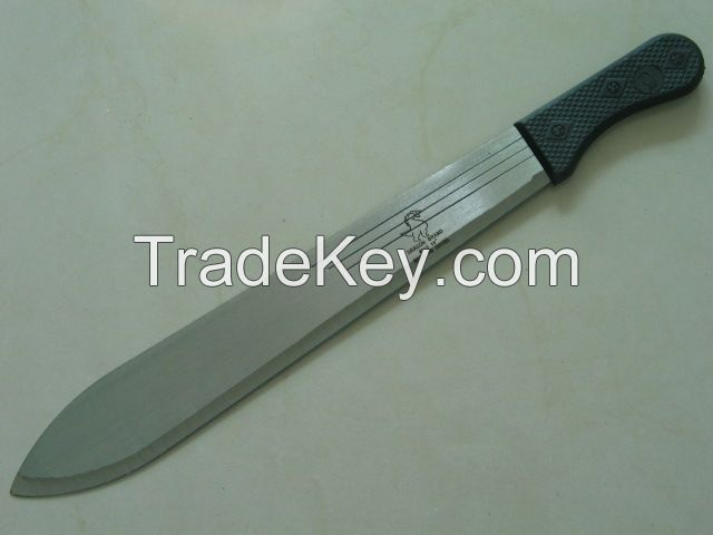 Uganda Kenya Rwanda Hand Machete M212 With Wooden Handle Polished Blade