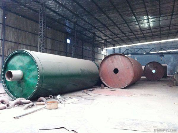 waste rubber/plastics/tyre refining equipment