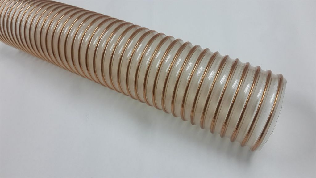 PU wire reinforced Hoses for material transportation