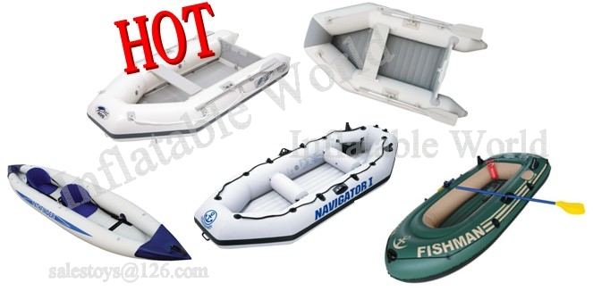 inflatable boat, fishing boat, sport boat, plywood boat, PVC boat