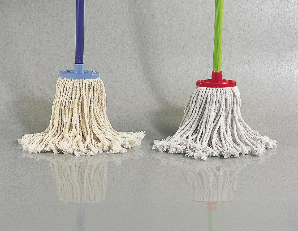 Mop with cotton bristle