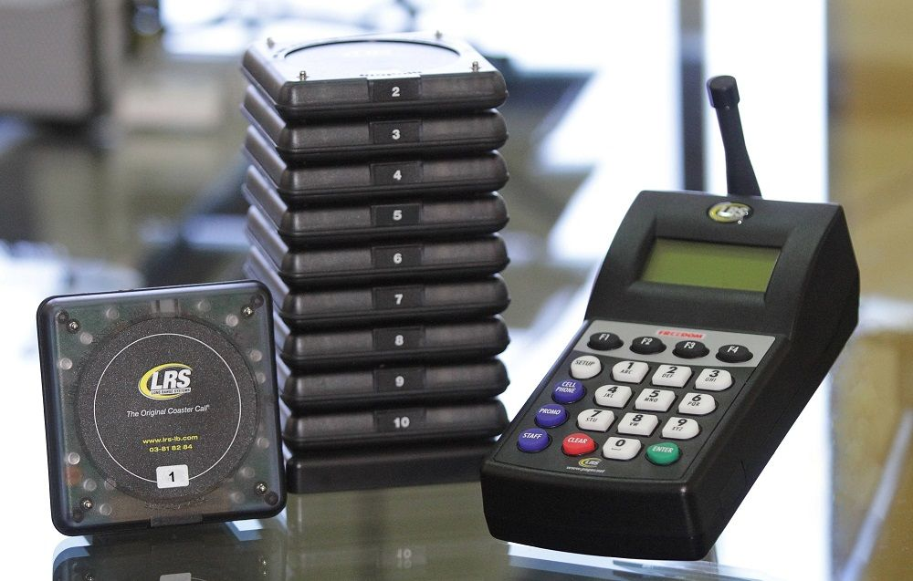 Wireless Restaurant Guest Paging System