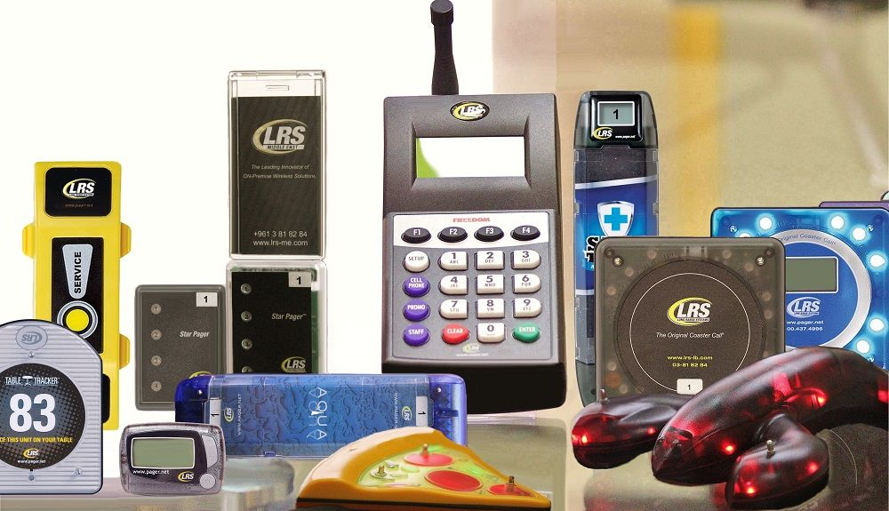 Wireless Guest Paging System Pagers