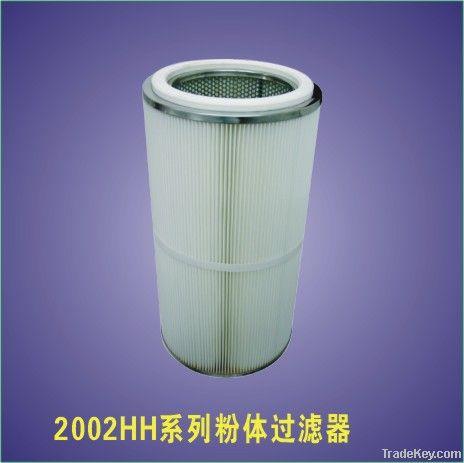 Powder filter element
