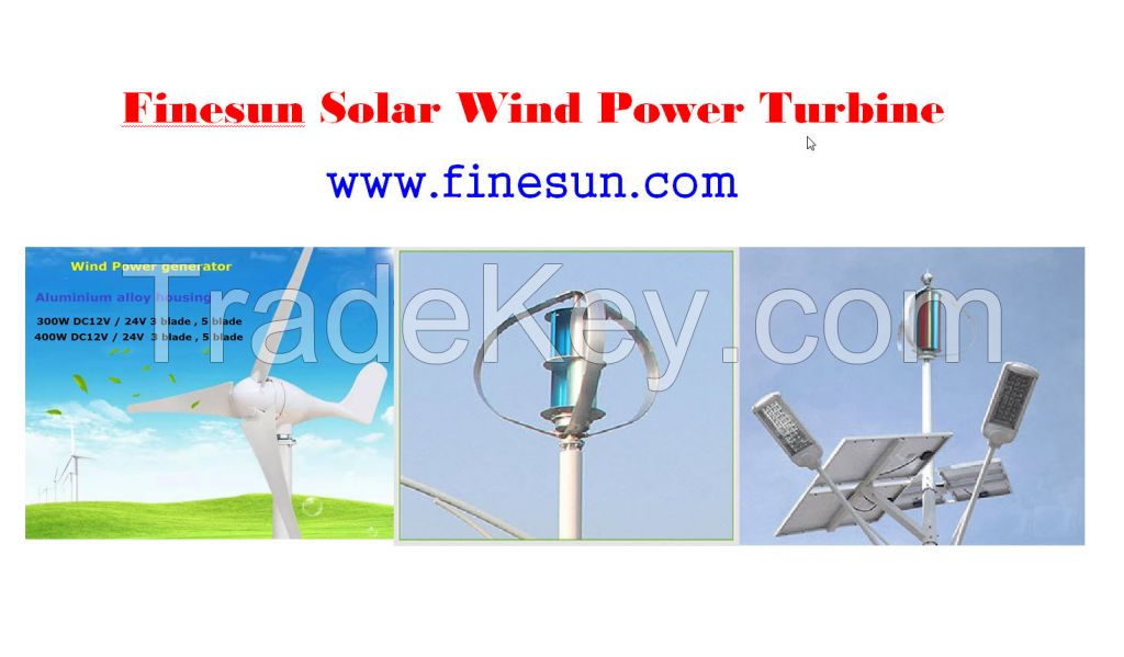 Solar Wind power generator
