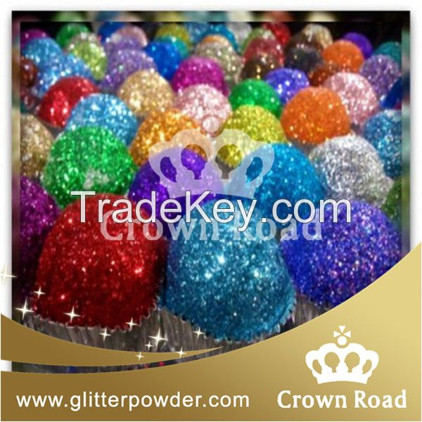 glitter powder for arts and crafts decoration