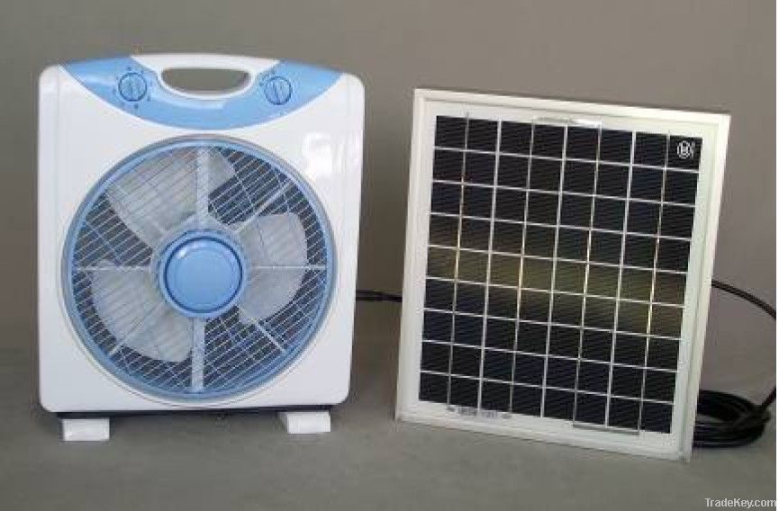 Rechargeable Solar Fan