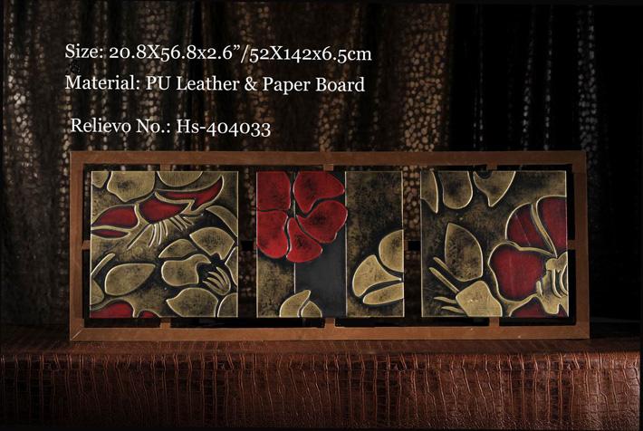 Leather Shelf