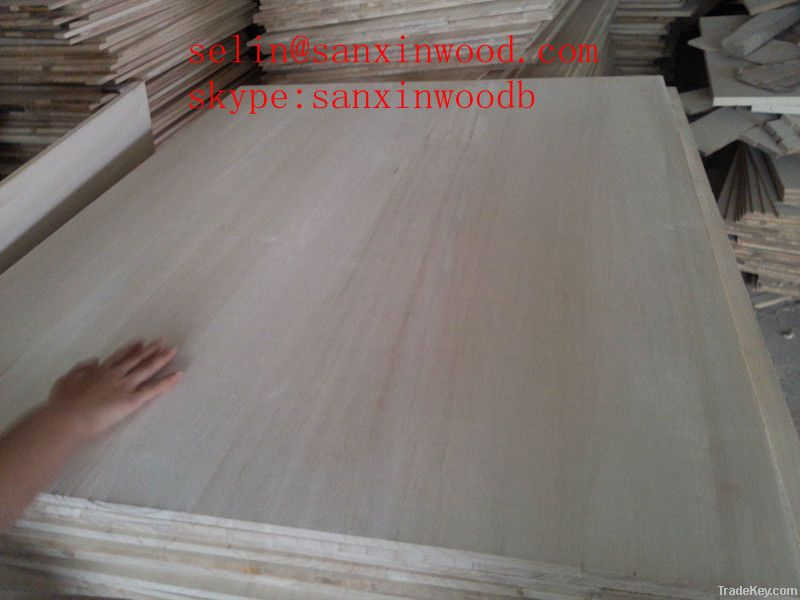 FSC paulownia edge glue boards