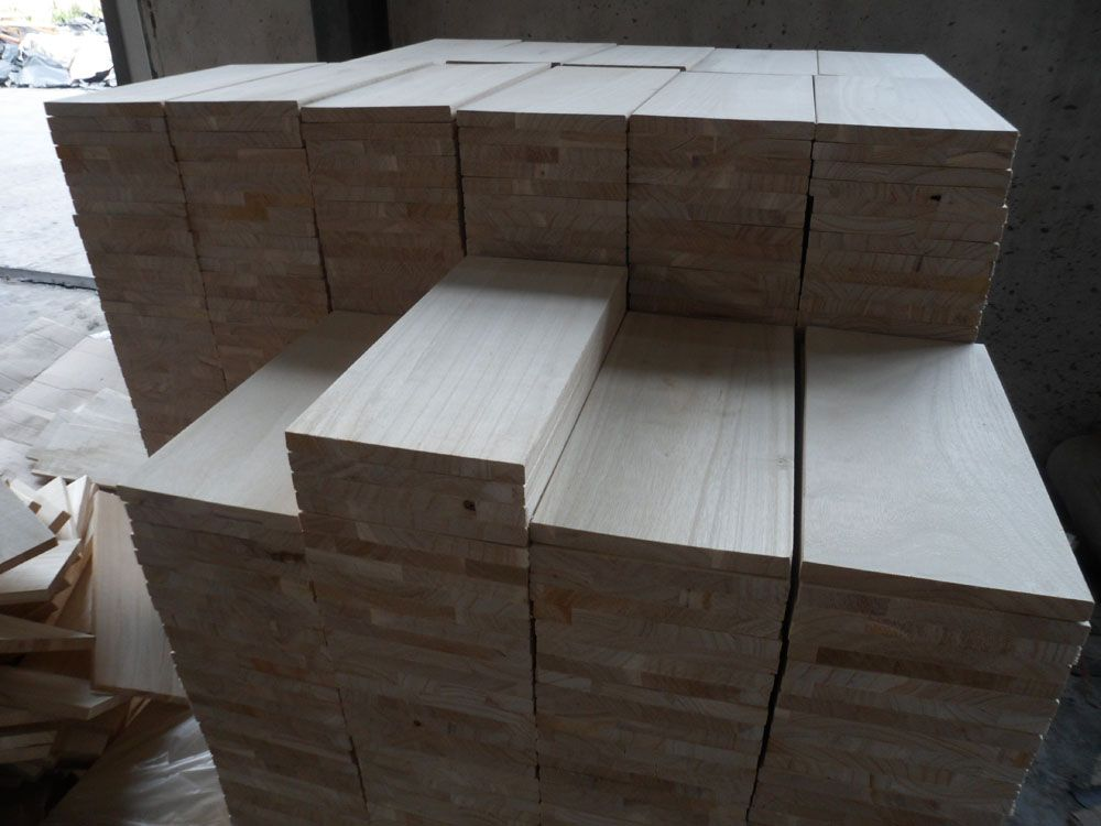 Paulownia (Drawer Panel) finger joint boards