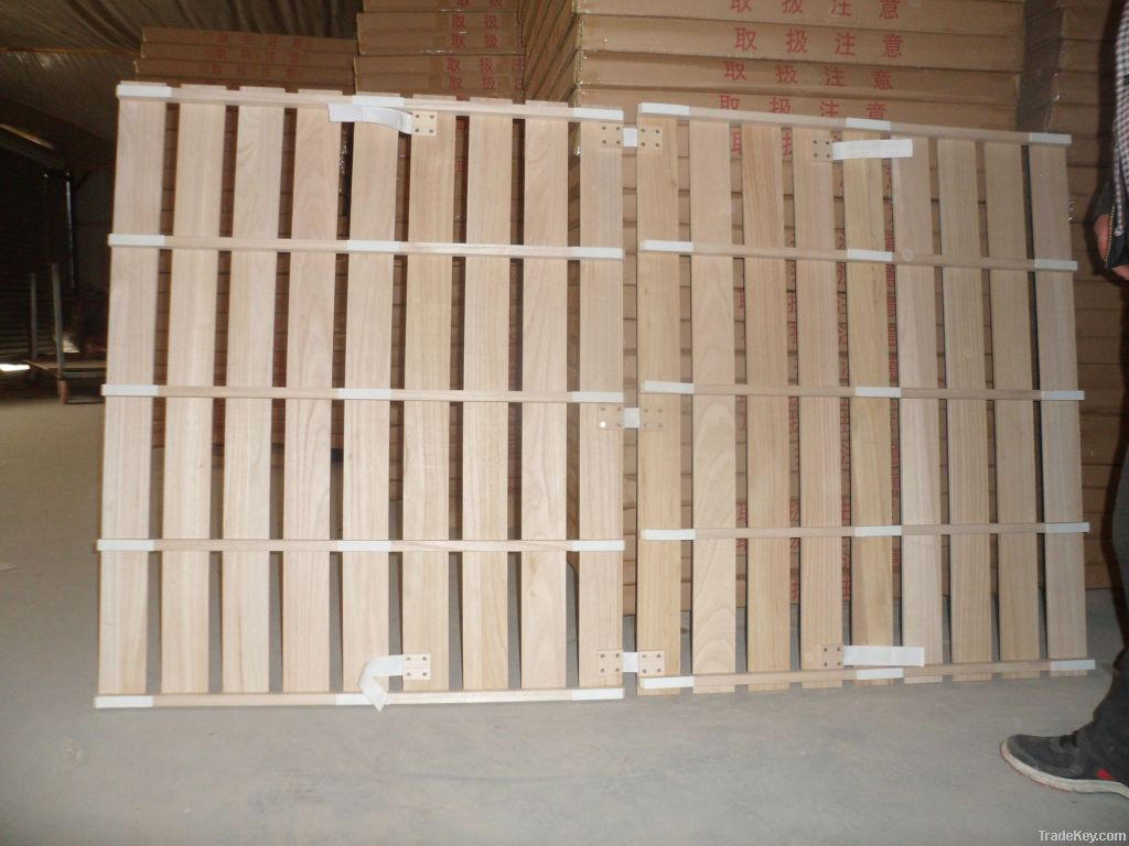 Paulownia bent/straight bed slat wood