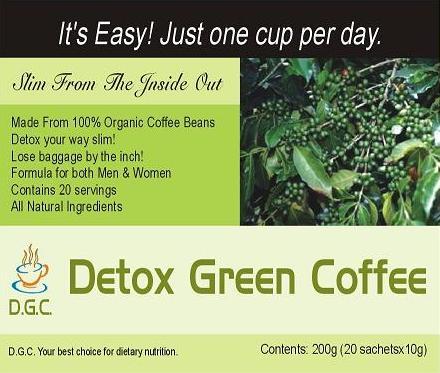 Detox Green Coffee