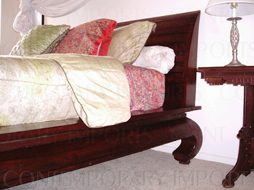 Opium Bed  ~ Solid Mahagony