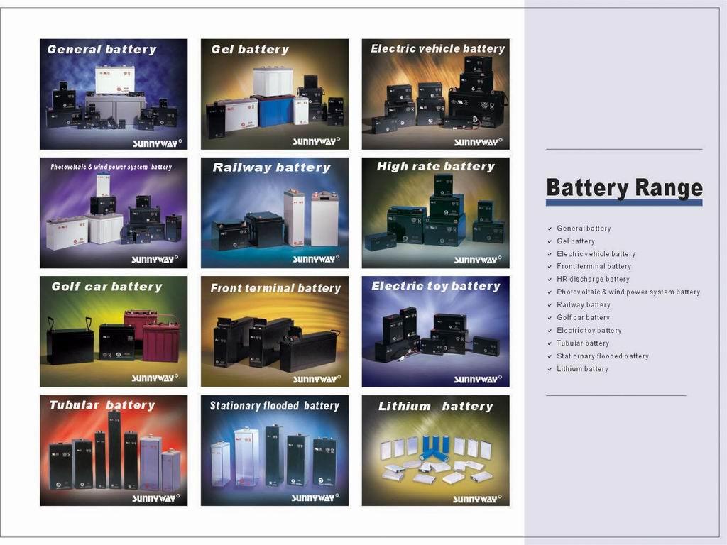 battery, SLA, AGM, Gel battery, deep cycle battery, solar battery,
