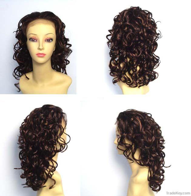 weaving, hair piece, wig, half wig, drawstring, clip hair