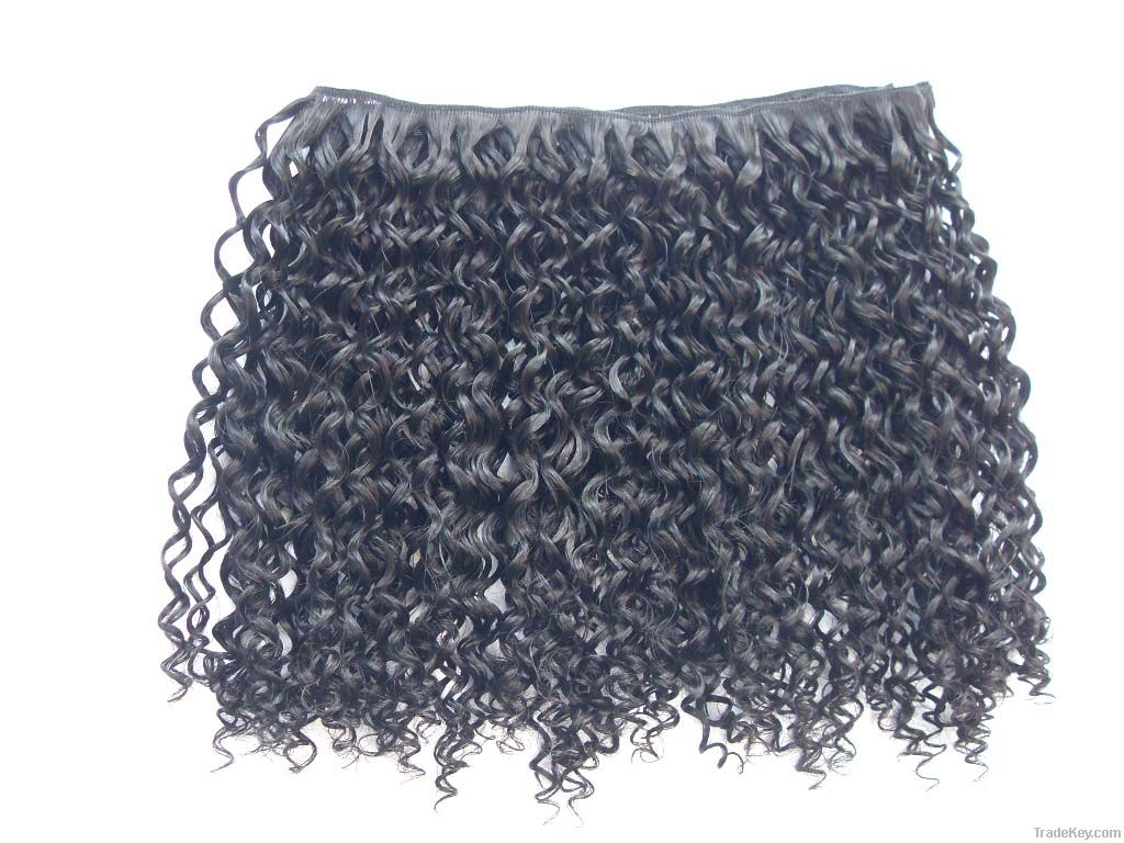 Synthetic hair weaving