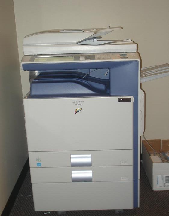 Commercial Color Copier/Fax/Scanner/Printer