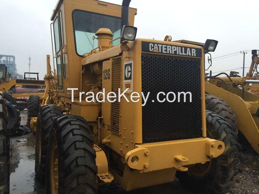 used original Japan Caterpillar 12G motor grader for sale