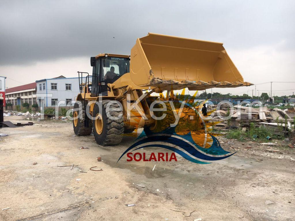 used original China Caterpillar 966H wheel loader for sale