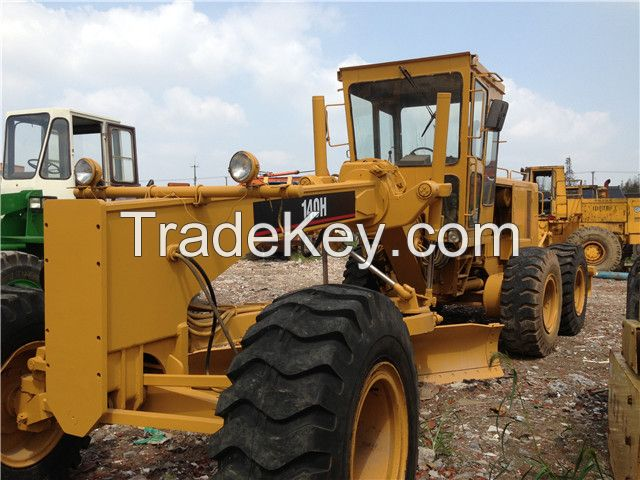 used original Japan Caterpillar 140H motor grader for sale