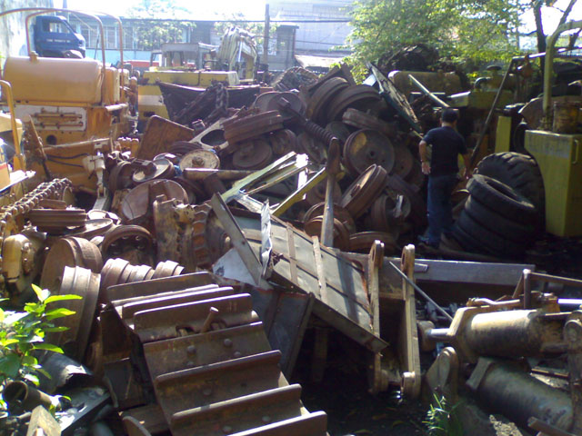 Heavy Equipment Scrap Metals