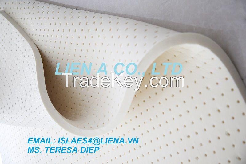 100% natural latex mattress- Latex topper- latex sheet