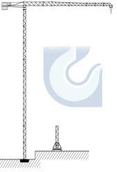The tower crane KB-586