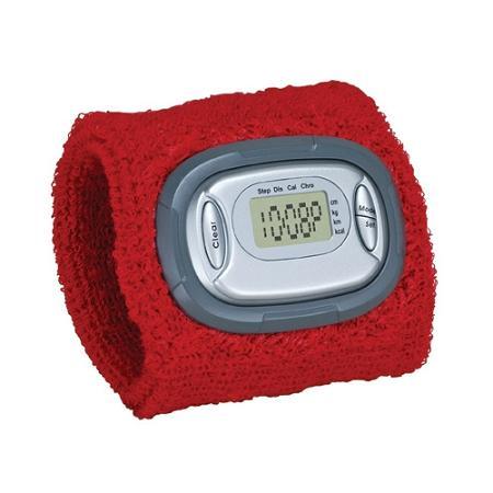 Sweatband Pedometer Watch