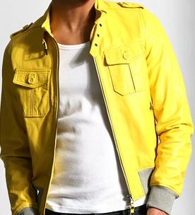 Sheepskin Yellow Jacket