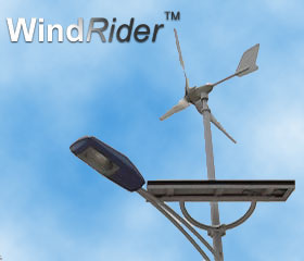 wind/solar hybrid light