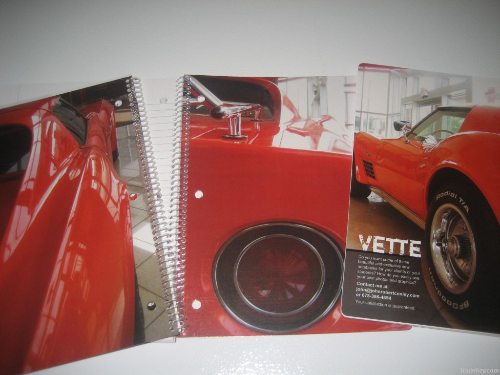 Customized Spiral-Bound Notebooks