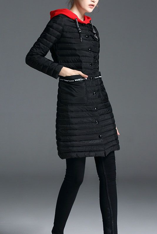 Women's winter warm Down Jacket with Hood