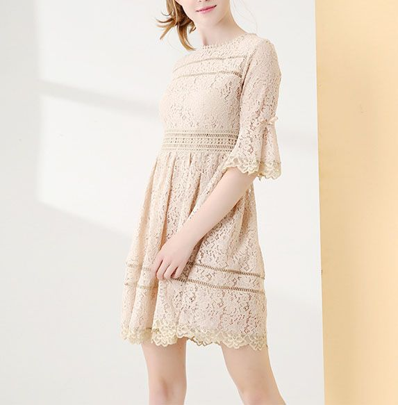 Women's party lace Mini Dress