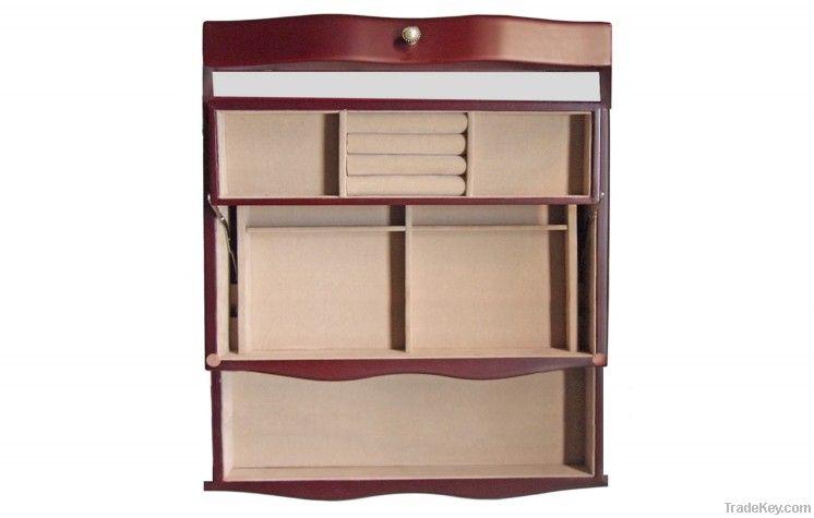 Wooden jewelry box Jewelry box, Jewel box, Storage box