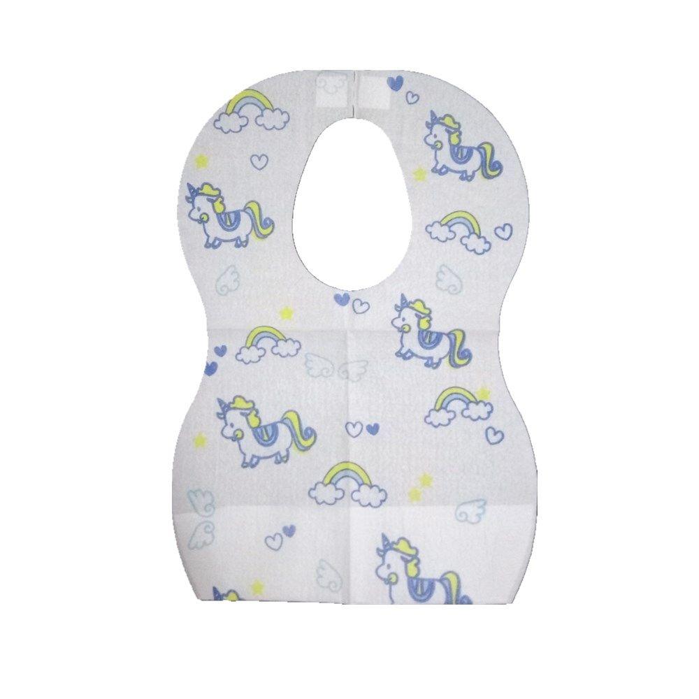 2-3 Layers Baby Bibs Waterproof with Crumb Catcher Custom Package 10 Packs