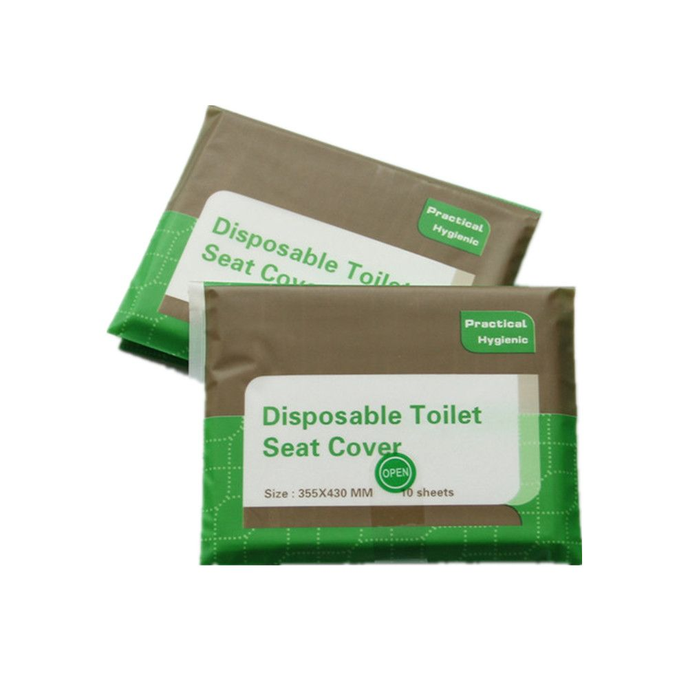 Paper Toilet Seat Cover Paper Tissue Flushable Pouch Bag Custom Package
