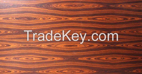 Brizal Santos Rose wood Pre-coated veneer panel