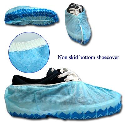 Non-Woven Shoe cover Non Skid Bottom