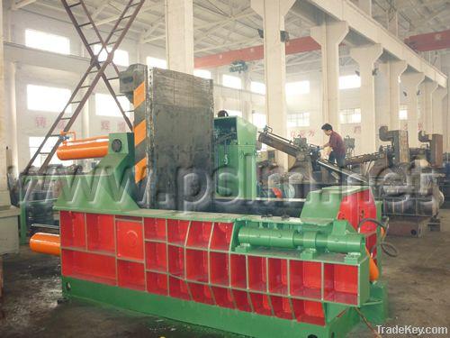 Y81-125 hydraulic metal balers, 125T hydraulic baler, metal balers