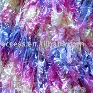 Space Dyed Feather Yarn
