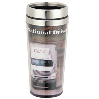 Full Color Insert Travel Tumbler