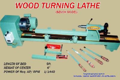 Wood Turning Lathe By Prabhat Mechanic Works India