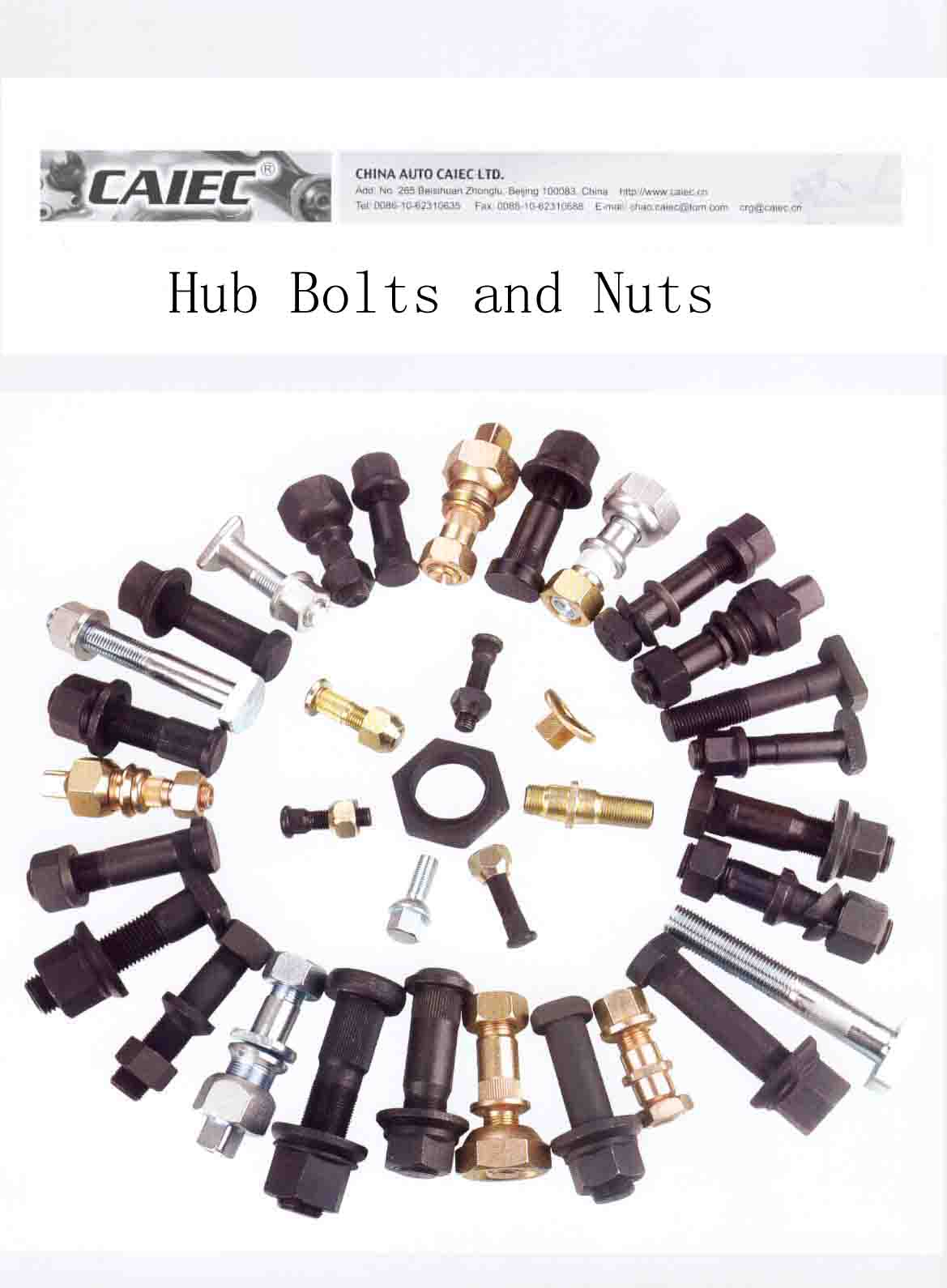 Hub Bolt And Nut